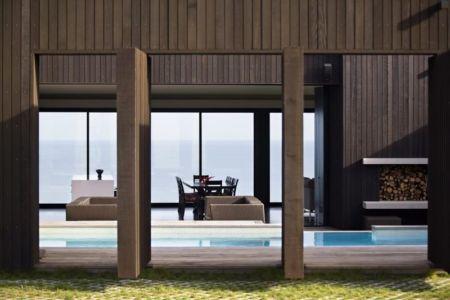 entrée - Modern farmhouse par Pattersons - Muriwai, Nouvelle-Zélande