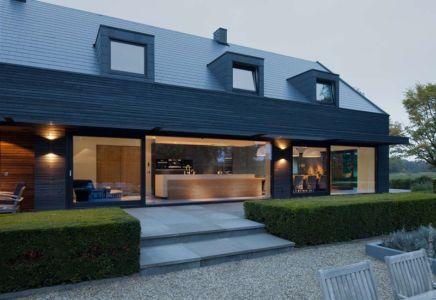 façade terrasse & grande baie vitrée - House-M par WillensenU, Pays-Bas