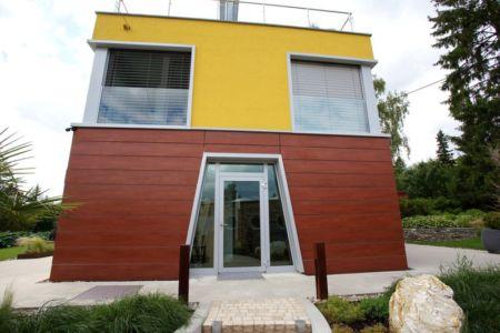 façade entrée - Barbo House par Ralph Büeler (Bend Group) - Genève, Suisse