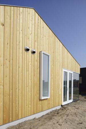 façade entrée - Biobased-Living-Concept par DDacha - Pays-Bas