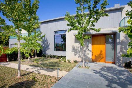 façade entrée - Chatauqua Residence par Studio William Hefner - Californie, Usa