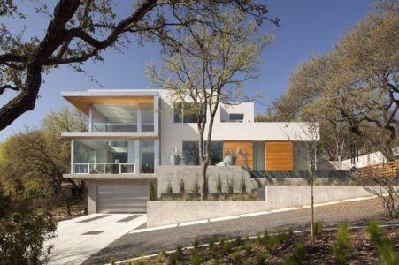 façade entrée - City View Residence par Dick Clark Architecture - Austin, Usa