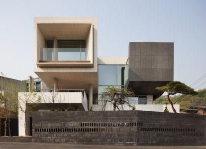 façade entrée - Customi-Zip par L'EAU design - Gwacheon-si, Corée du Sud