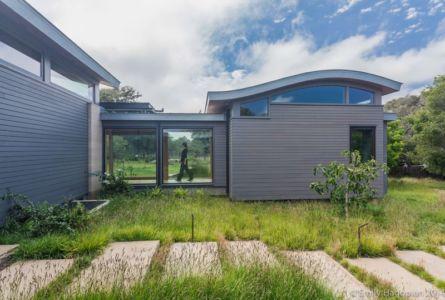 façade entrée - Farm-House par William McDonough + Partners - Californie, USA