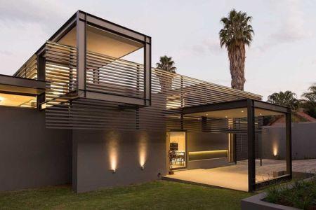 façade entrée - House Sar par Nico van der Meulen Architects - Johannesbourg, Afrique du Sud