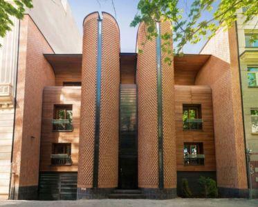 façade entrée - Kaveh-House par Pargar Architecture and Design Studio - Téhéran, Iran