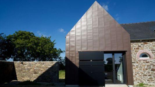 façade entrée - Le-Bourg-Neuf par ng-architecte - Bretagne, France