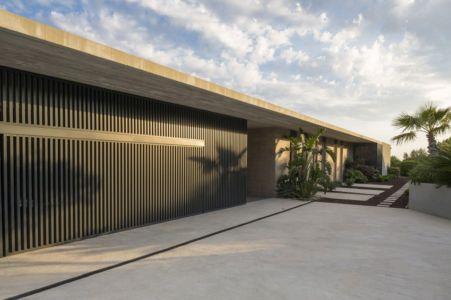 façade entrée - Maison A3 par Vincent Coste - Toulon, France