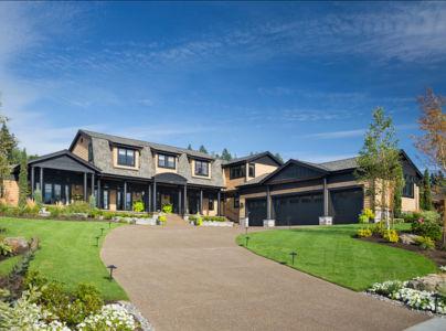 façade entrée - Maison typique par TTM Development company - Portland, Usa