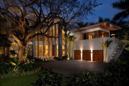façade entrée - Mimo house par Kobi Karp architecture - Miami Beach, Usa