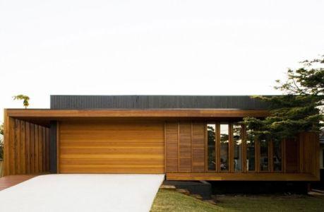 façade entrée - Narrabeen House par Chrofi - Narrabeen, Australie
