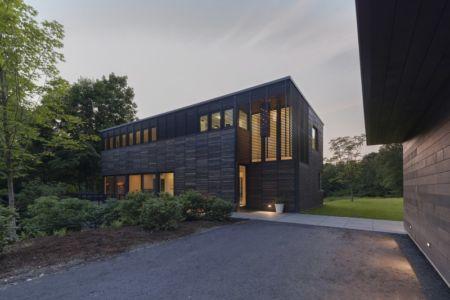 façade entrée - Red Rock House par Anmahian Winton Architects - Red Rock, Usa