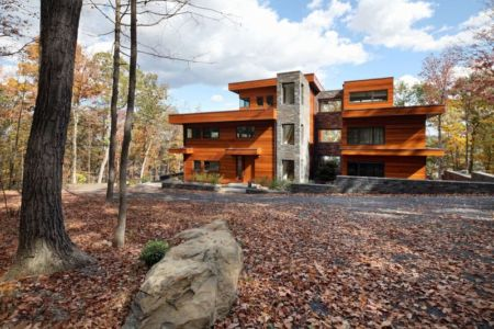 façade entrée - RiverBanks par Foz Design - Saugerties, Usa