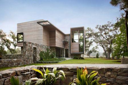 façade entrée - SC Modern I par SBCH Architects - Bray's Island, Sheldon, Usa