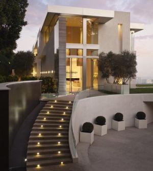 façade entrée - Sarbonne par McClean Design - Los Angeles, Usa
