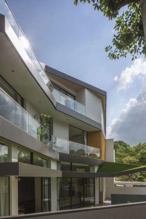 façade entrée - Trevose-House par Ad-Lab - Singapour