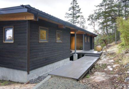 façade entrée arrière - balance-associates par Balance Associates - Colombie-Britannique, Canada