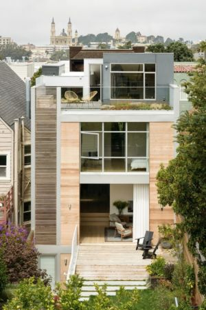 façade jardin - house-young-family par Feldman Architecture - San Francisco, USA