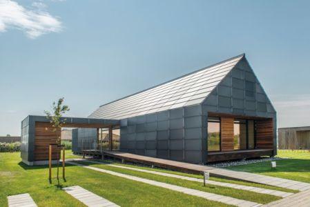 façade extérieure - La Casa de Libre Mantenimiento par Arkitema Architects  - Danemark