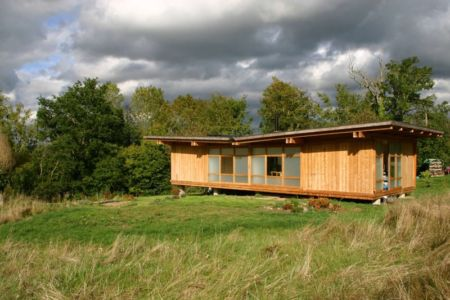 façade extérieure - Maison dans la prairie par Arba - Montreuil, France