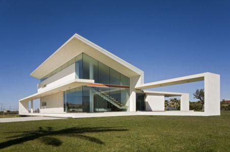 façade extérieure - Villa T by Architrend Architecture - Ragusa, Sicile, Italie