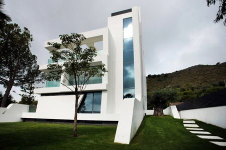 façade extérieure - Weave House par A-cero - Barcelone - Espagne - Photo Marcos Domingo