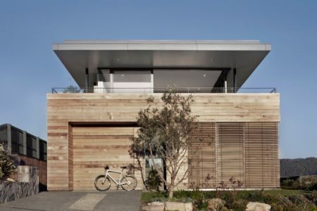 façade garage - Lamble Residence par Smart Design Studio - New South Wales, Australie