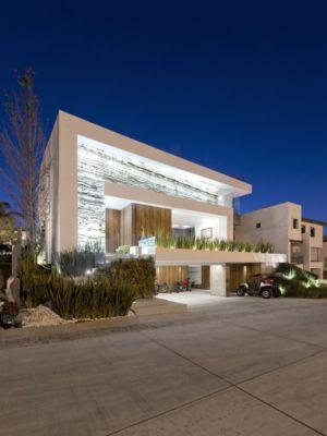 façade garage - Vista Clara par lineaaquitectura.mx - Puebla, Mexique