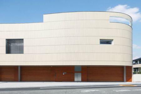 façade garage - YAM par ks-architects - Nagoya, Japon