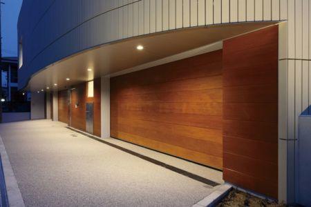 façade garage nuit - YAM par ks-architects - Nagoya, Japon