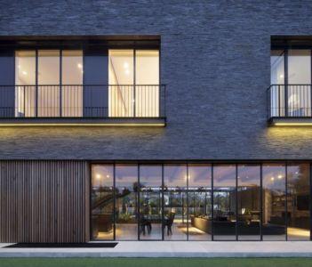 façade grande baie vitrée - NS-Residence par Blatman Cohen Architects - Netanya, Israël