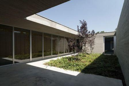 façade grande baie vitrée - Residenza Privata par Osa Architettura - Basilicata, Italie