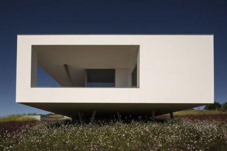façade inférieure - zauia-house par mario martins atelier - Val da Lama, Portugal