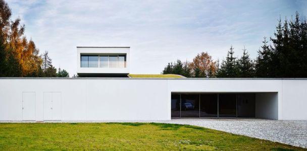 façade jardin - Autofamily House - Robert Konieczny-KWK Promes - Pologne
