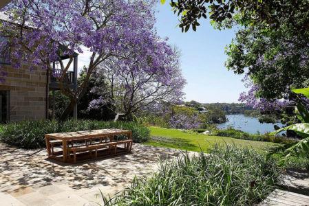 façade jardin - Bulwarra - maison kate Blanchett - Sydney, Australie