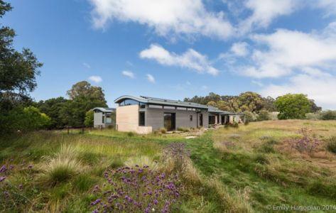 façade jardin - Farm-House par William McDonough + Partners - Californie, USA