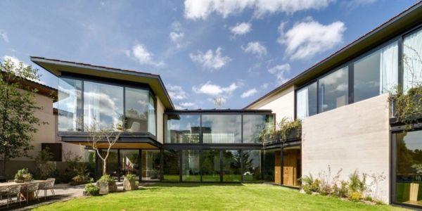 façade jardin - Garden house par VGZ Architecture - Mexico, Mexique