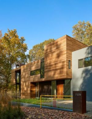 façade jardin - Hills-House par Robert M. Gurney - Maryland, USA