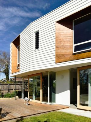 façade jardin - Home Extension par Preston Lane Architects - Sandy Bay, Australie