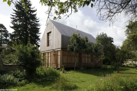 façade jardin - House-The-Grove par Arba - France