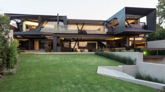 façade jardin - Kloof-Road-House par Nico van der Meulen Architects - Johannesburg, Afrique du Sud
