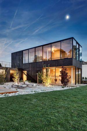façade jardin - Lake-House par Maximilien Eisenkock Neufelder, Autriche