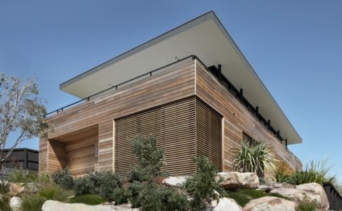 façade jardin - Lamble Residence par Smart Design Studio - New South Wales, Australie