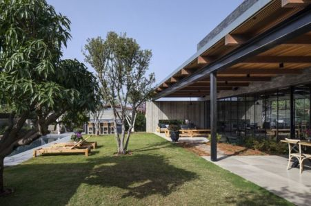 façade jardin - NS-Residence par Blatman Cohen Architects - Netanya, Israël