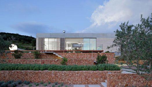 façade jardin - Olive House par LOG-URBIS - Pag, Croatie