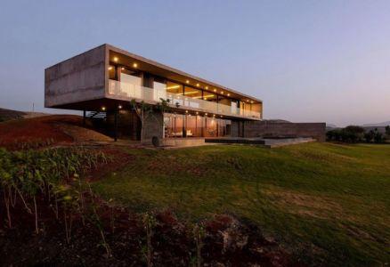 façade jardin - Panorama-House par Ajay Sonar - Nashik, Inde