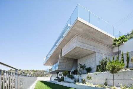 façade jardin - Prodromos and Desi Residence par VARDAstudio - Paphos, Chypre