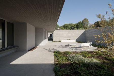 façade jardin - Residenza Privata par Osa Architettura - Basilicata, Italie