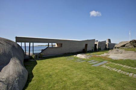 façade jardin - Summer-House par JVA - Vestfold, Norvège