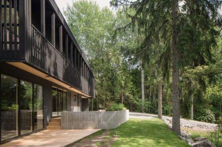 façade jardin - Torsby III par Max Holst Arkitekt - Stockholm, Suède